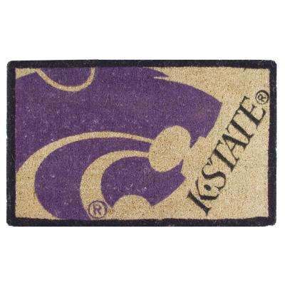 Kansas State University 18 in. x 30 in. Welcome Mat