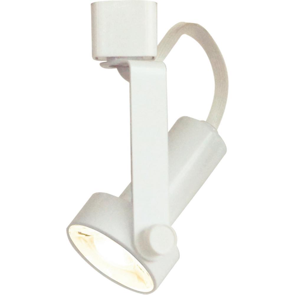 Volume Lighting 1 Light Indoor Interior White Gimbal Ring Integrated Led Track Head