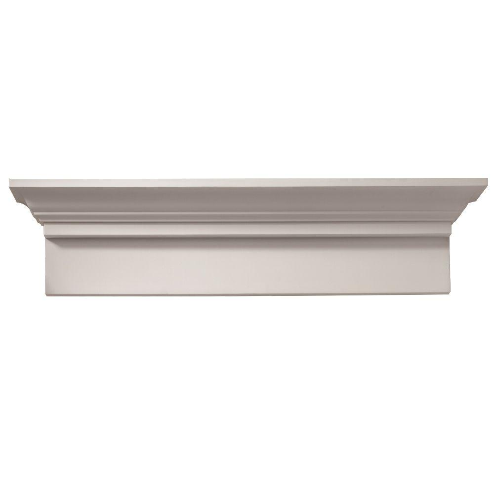 64 in. x 9-11/16 in. x 4-9/16 in. Polyurethane Window and