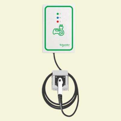 EVlink 30 Amp Level-2 Outdoor Wall Mount Electric Vehicle Charging Station