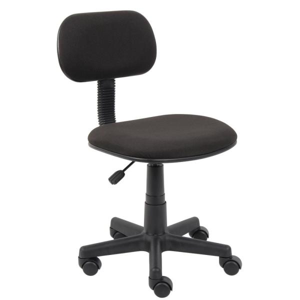 Black Fabric Steno Chair