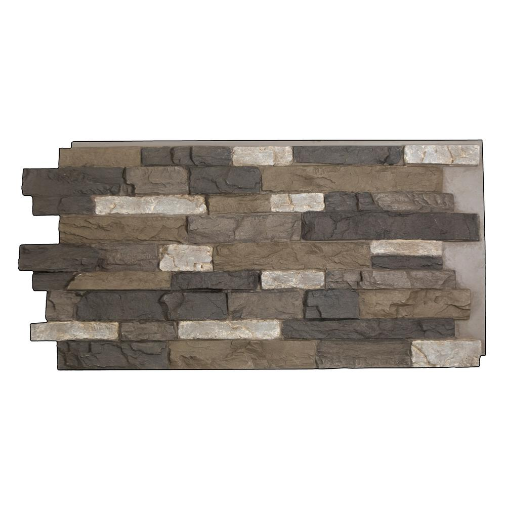 Polyurethane Stone Panels : Superior building supplies snodonia faux stone panel