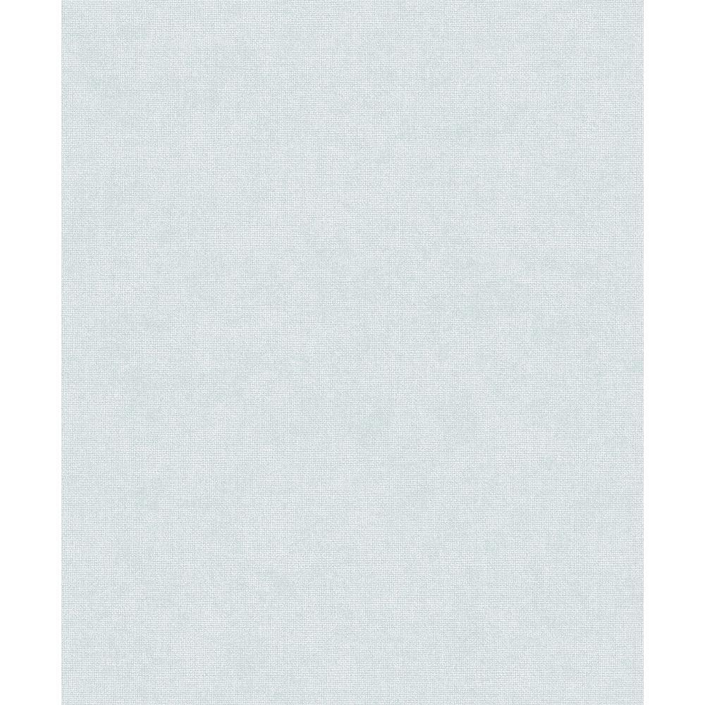 7bef8b95e Advantage 8 in. x 10 in. Tatum Sky Blue Fabric Texture Wallpaper ...