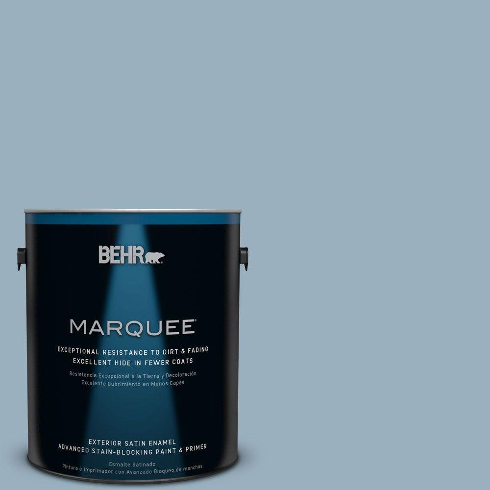 BEHR MARQUEE Home Decorators Collection 1-gal. #HDC-CT-24 Rainy Sidewalk Satin Enamel Exterior Paint