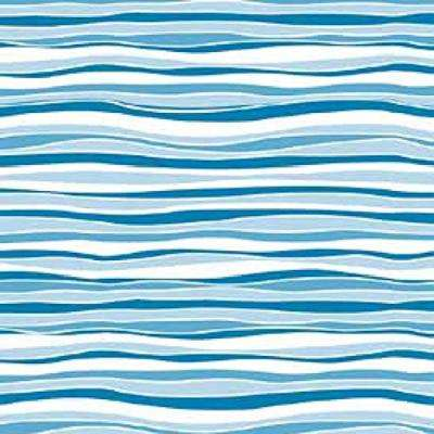 Creative Covering 18 in. x 20 ft. Wave Marina Self-Adhesive Vinyl Drawer and Shelf Liner (6-Rolls)