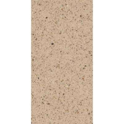 2 in. x 2 in. Solid Surface Countertop Sample in Bellany