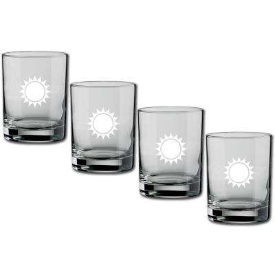 Kasualware U.S.A. 14 oz. Double Old Fashioned Glass (Set of 4)