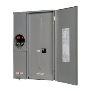 murray 200 amp 40 space 40 circuit combination meter. Black Bedroom Furniture Sets. Home Design Ideas