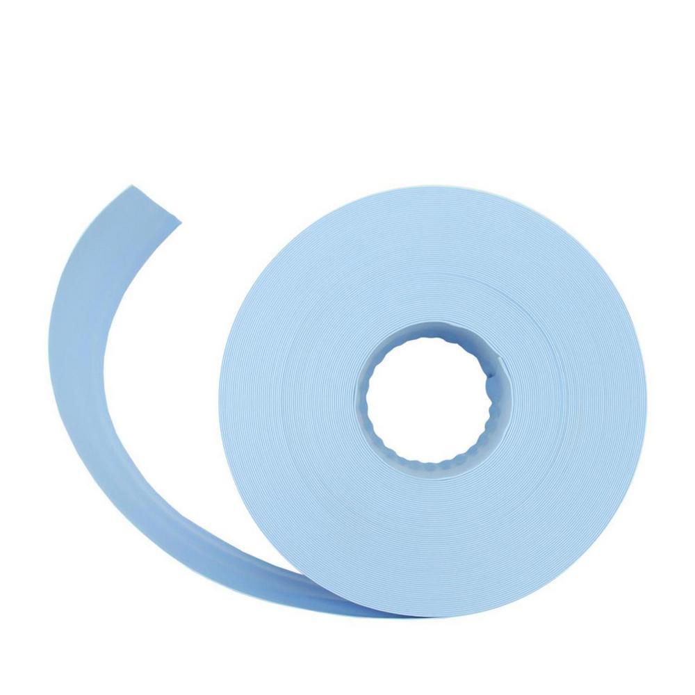 100 ft. x 2 in. Swimming Pool PVC Filter Backwash Hose in Light Blue