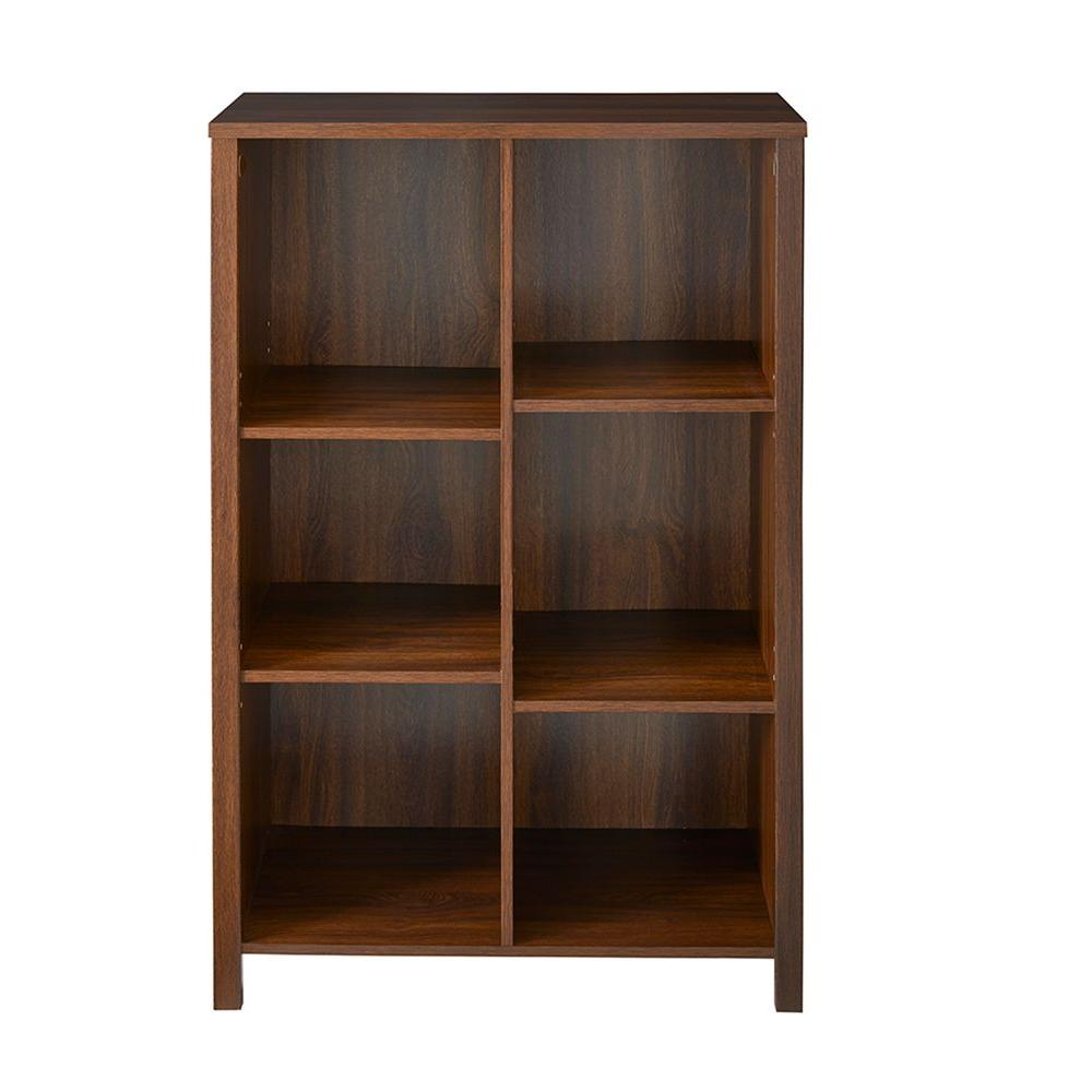 H Dark Chestnut 6 Cube Organizer 16054 The Home Depot