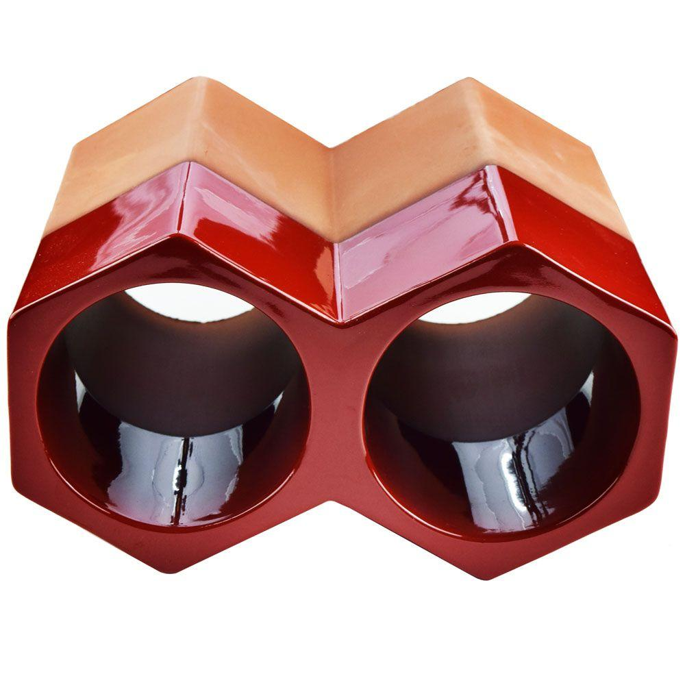 Merola tile botellero red 5 in x 9 14 in 2 bottle terra cotta merola tile botellero red 5 in x 9 14 in 2 bottle terra cotta glazed ceramic stackable floor wine rack rgdbotrd the home depot dailygadgetfo Choice Image