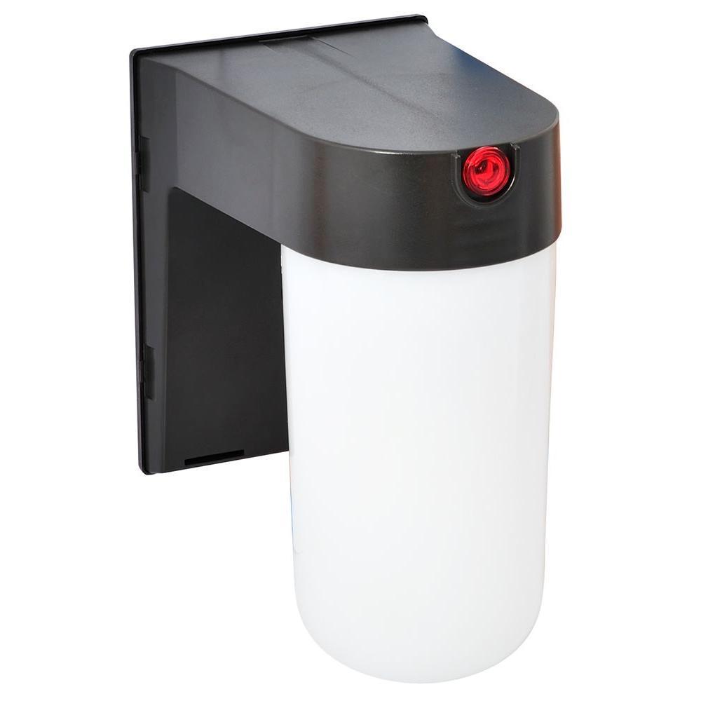 Amax Lighting Jelly Jar Porch SLC Bronze Outdoor Wall Fixture