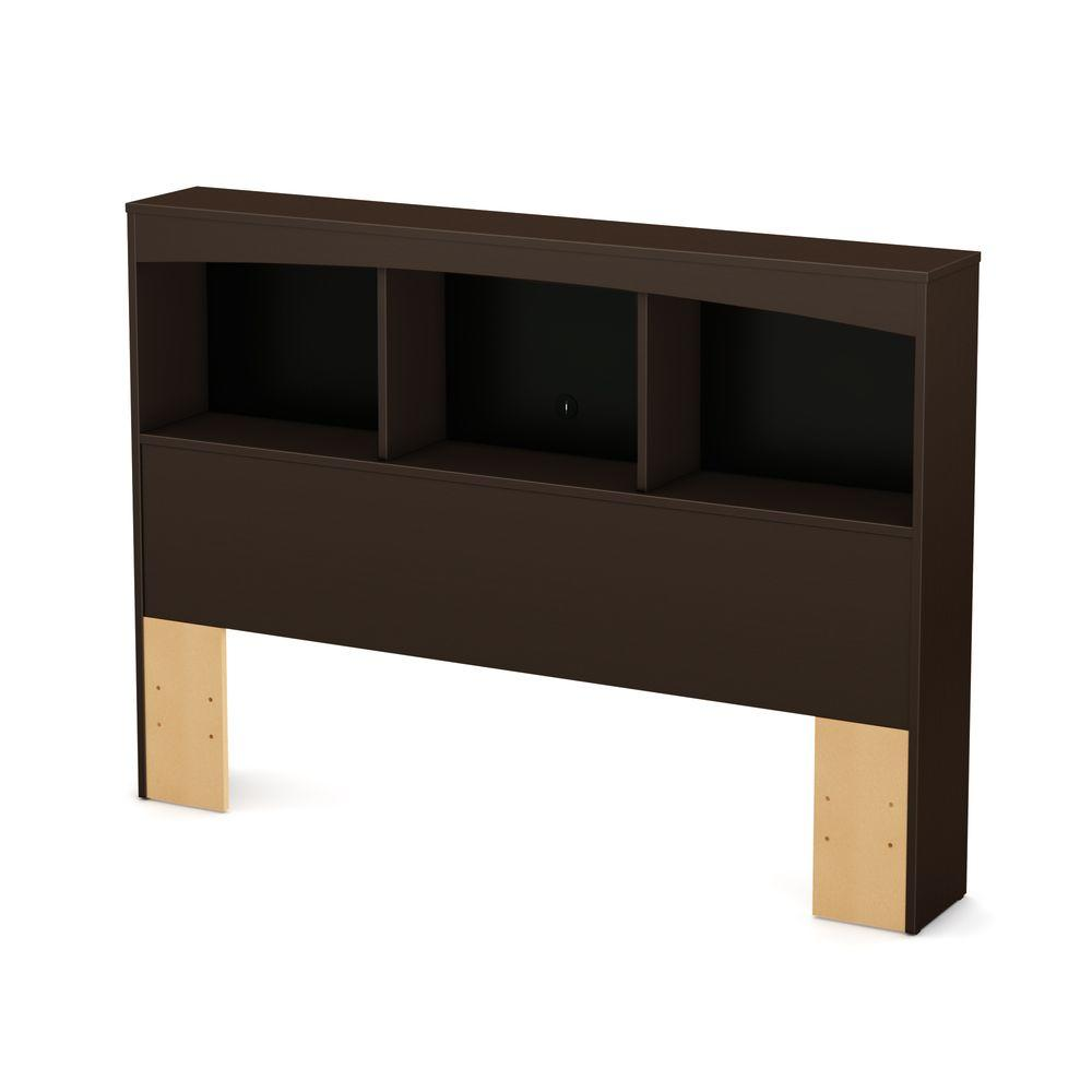 South Shore South Shore Step One Chocolate Full Headboard, Brown