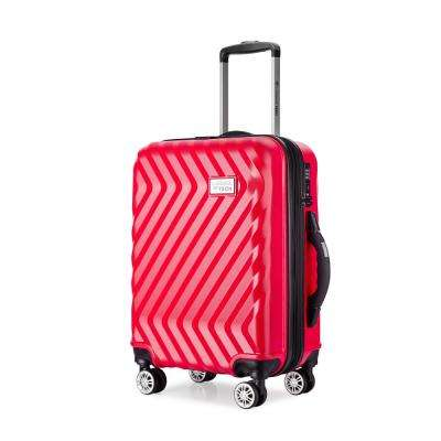 Luggage Tech Monaco Collection 20 in. Smart Luggage - Red