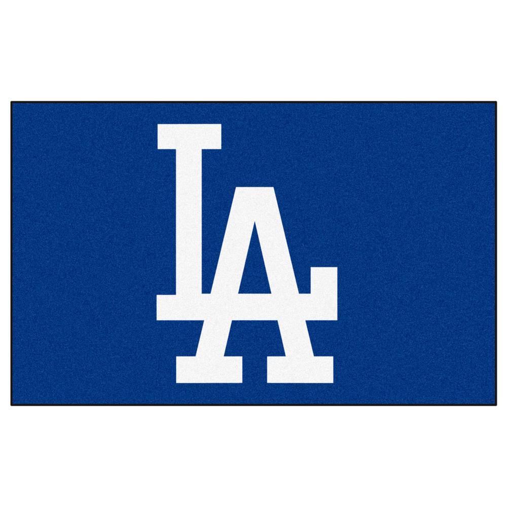 FANMATS Los Angeles Dodgers Blue 5 Ft X 8 Ft Indoor Outdoor
