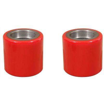 Replacement Pallet Jack Load Wheel Set 3-9/16 in. Hub Length x 2-15/16 in. Dia x 20 mm ID