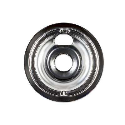 6 in. Chrome Drip Bowl for GE Electric Ranges