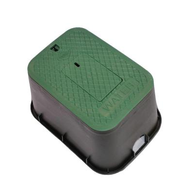 """Dura Round Sprinkler Valve Box Replacement Lids Size 6/"""" Color Green"""