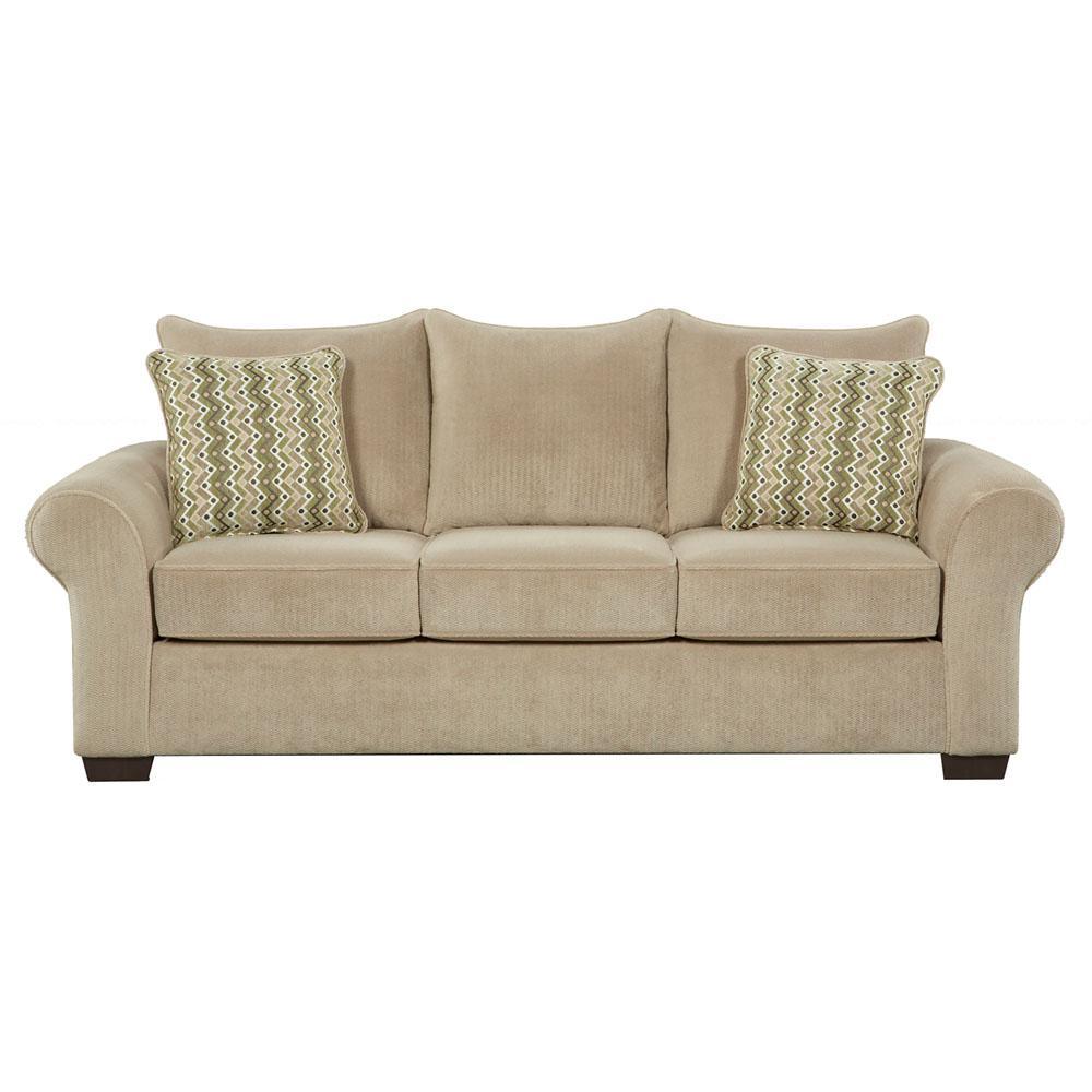 Cambridge Brandywine 3-Piece Tan Living Room Set (Sofa, Loveseat and ...