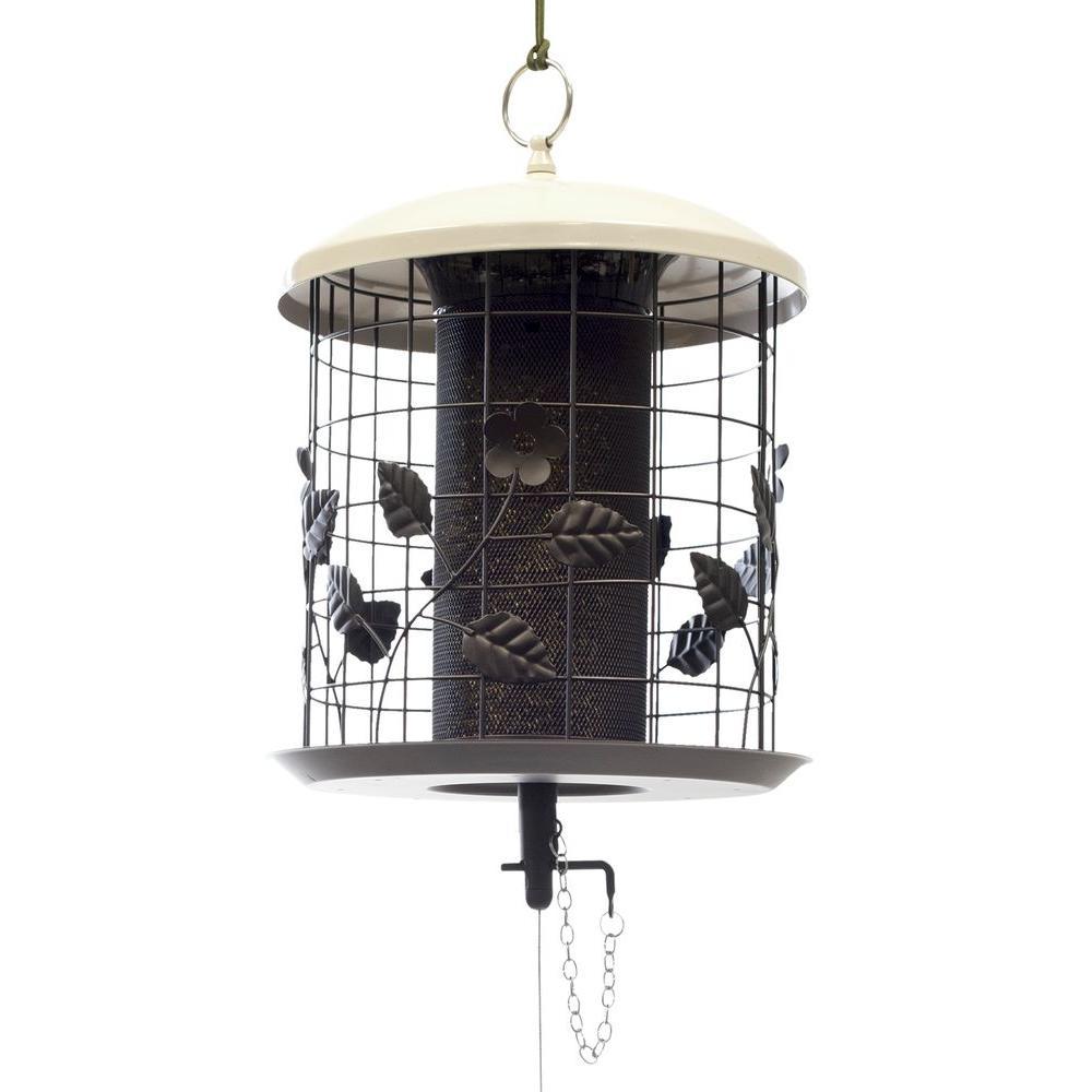 The Effort-Less Birdfeeder 1000 Series Mixed Seed Cage Feeder by The Effort-Less Birdfeeder