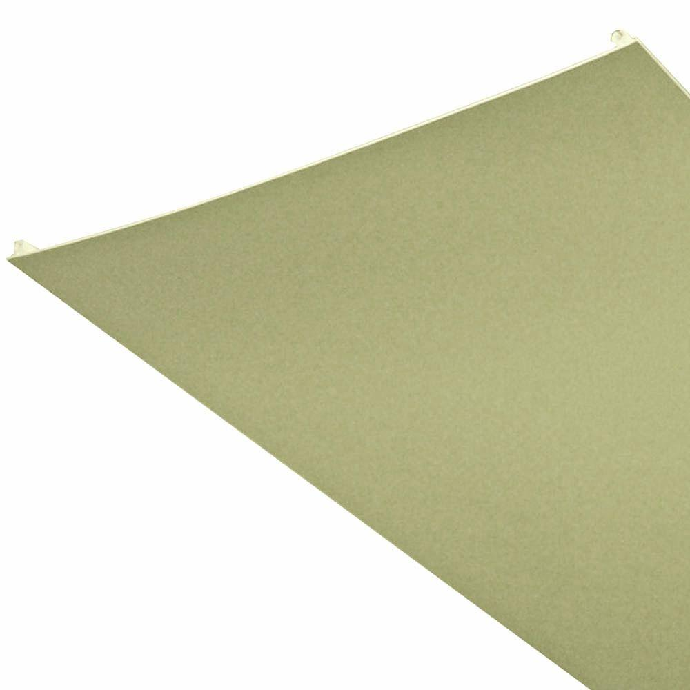 ZipUP Embossed Beige 16 ft. x 1 ft. Lay-in Ceiling Panel