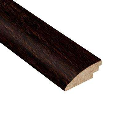 Strand Woven Walnut 9/16 in. Thick x 2 in. Wide x 78 in. Length Bamboo Hard Surface Reducer Molding