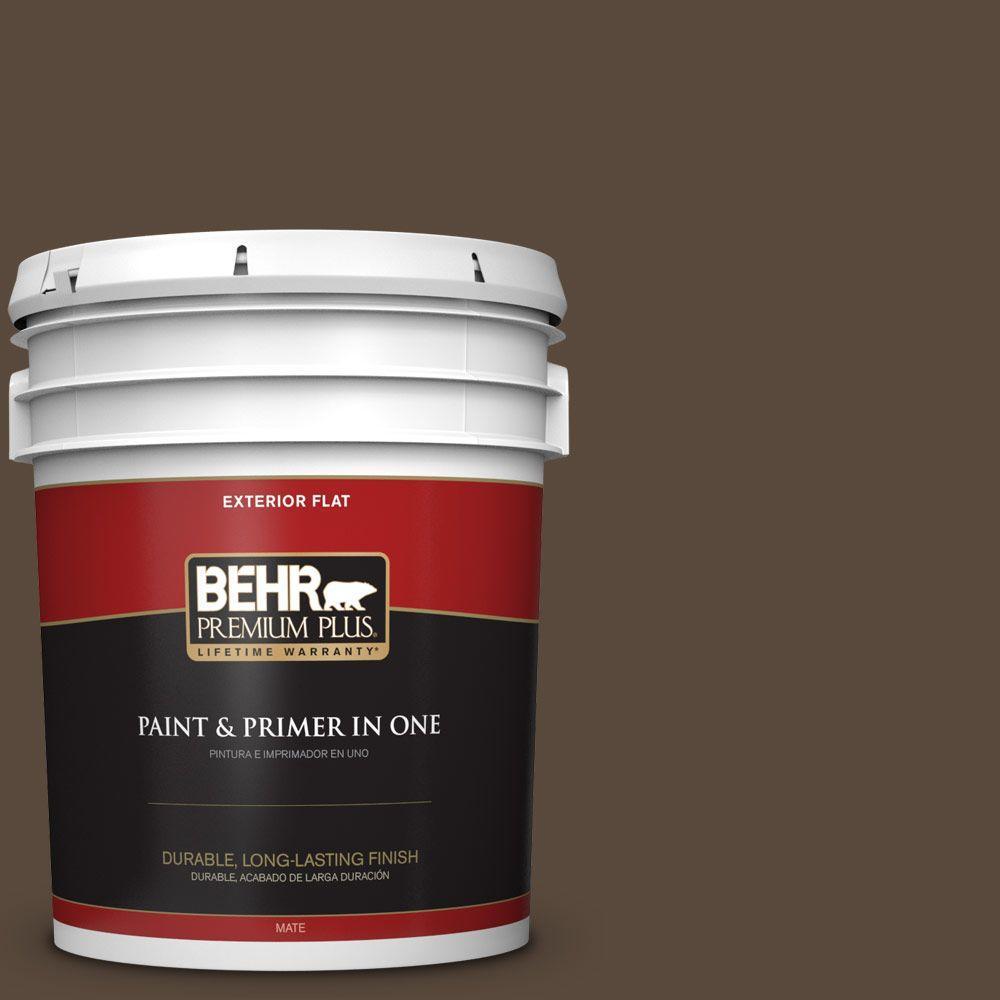 BEHR Premium Plus 5-gal. #ECC-44-3 Osprey Flat Exterior Paint