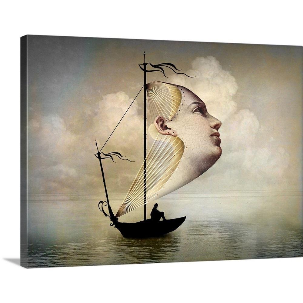 """""""Homeward Bound"""" by Catrin Welz-Stein Canvas Wall Art"""