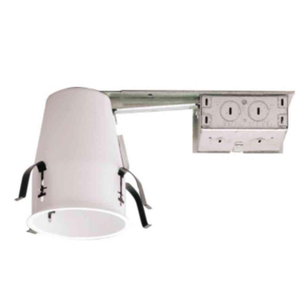 Recessed Lighting In Insulation Contact : Halo h in steel recessed lighting housing for remodel