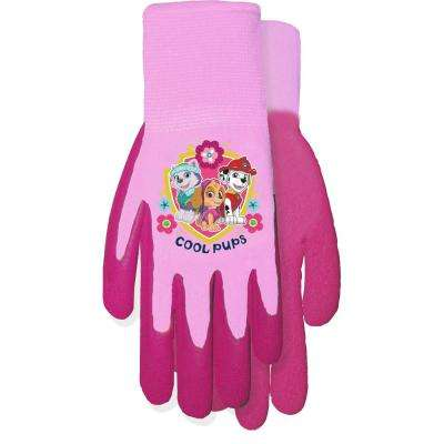 Paw Patrol Pink Gripping Gloves