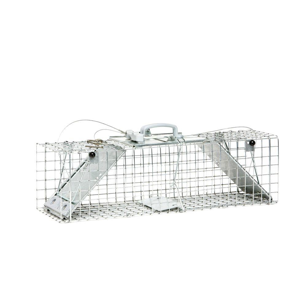 Medium 2-Door Easy Set Live Animal Cage Trap