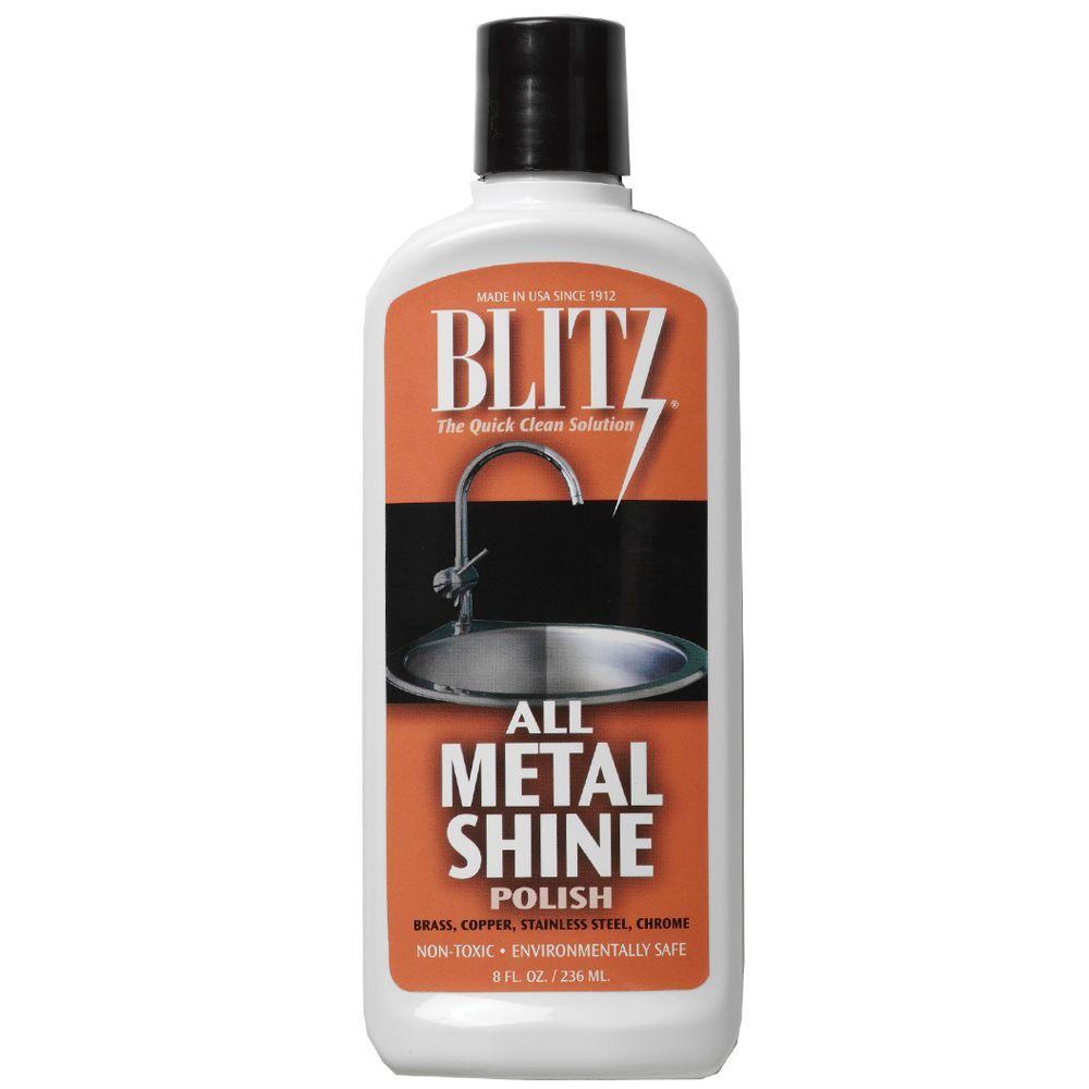 8 oz. All Metal Shine Polishing Liquid