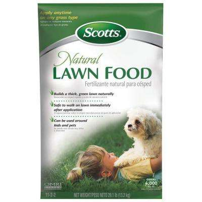 29 lbs. Dry Natural Lawn Food