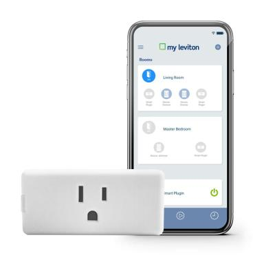 Decora Smart Wi-Fi Mini Plug-In Single Outlet, No Hub Required, Works with Alexa and Google Assistant, White