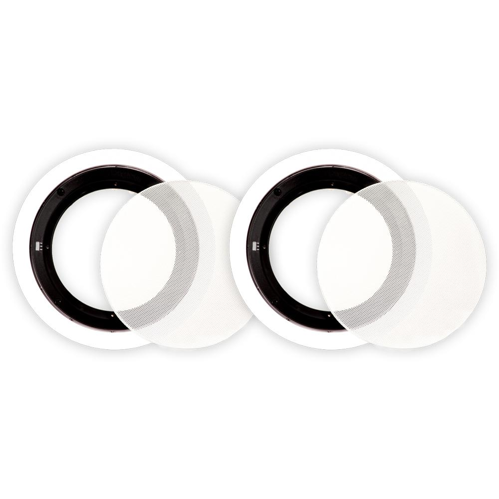 Frames and Grills for 6.5 in. In-Ceiling Speakers Theater Solutions Pair of 6.5 in. In Ceiling Speaker Frames and Grills are perfect for filling speaker holes from Theater Solutions speakers. Same frames as Theater Solutions CS6C, TS65C or TSS6C speakers. Please understand that other manufacturer's 6.5 in. in ceiling speakers may have different size frames and grills. These frames and grills are designed to fit Theater Solutions speakers.