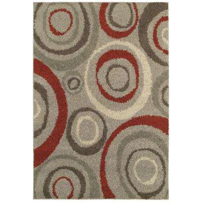 Orbit Gray 9 ft. 6 in. x 12 ft. 2 in. Area Rug