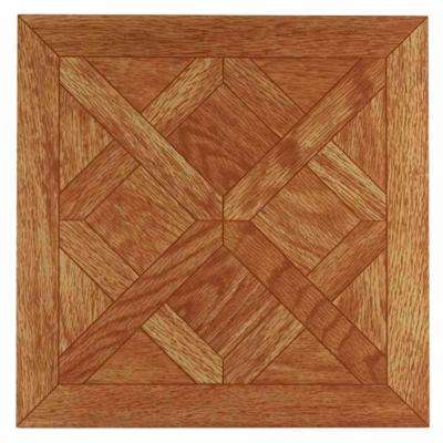 Tivoli Classic Oak 12 in. x 12 in. Peel and Stick Parquet Vinyl Tile (45 sq. ft./case)