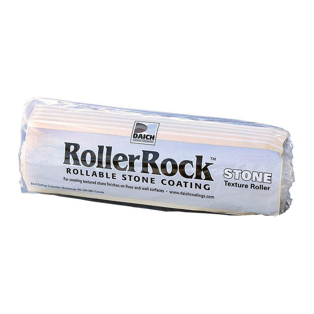 9 in. x 1/2 in. Foam Stone Texture Roller