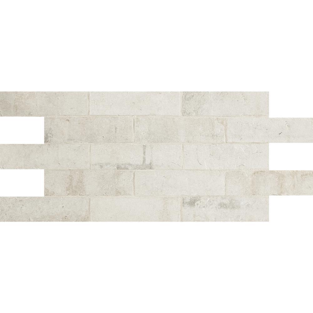 Daltile Glacier White 12 In X 12 In Ceramic Floor And