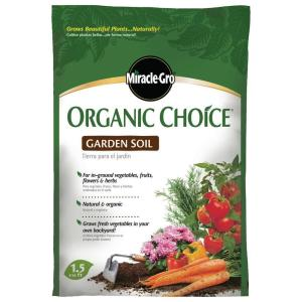 1.5 cu. ft. Organic Choice Garden Soil