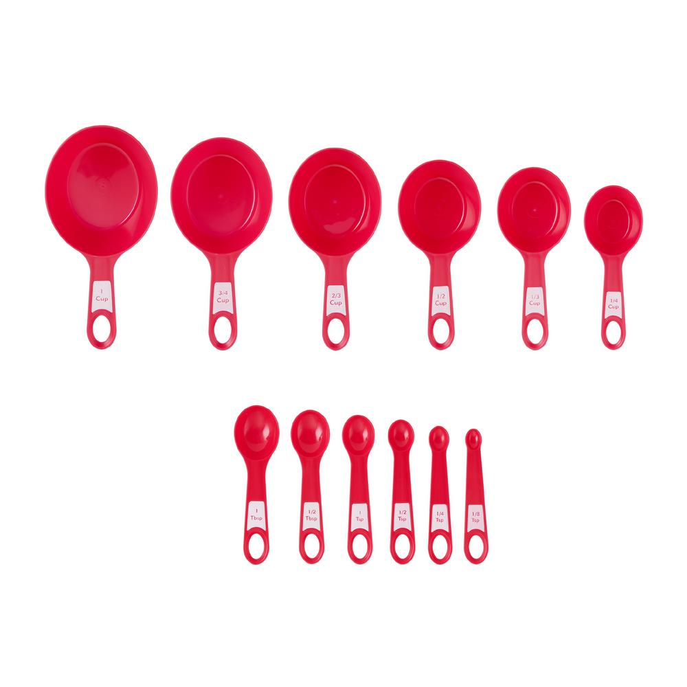 12-Piece Measuring Cup and Spoon Set