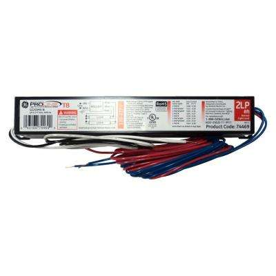 120 to 277-Volt Electronic Ballast for 8 ft. 2 or 1-Lamp T8 Fixture (Case of 10)