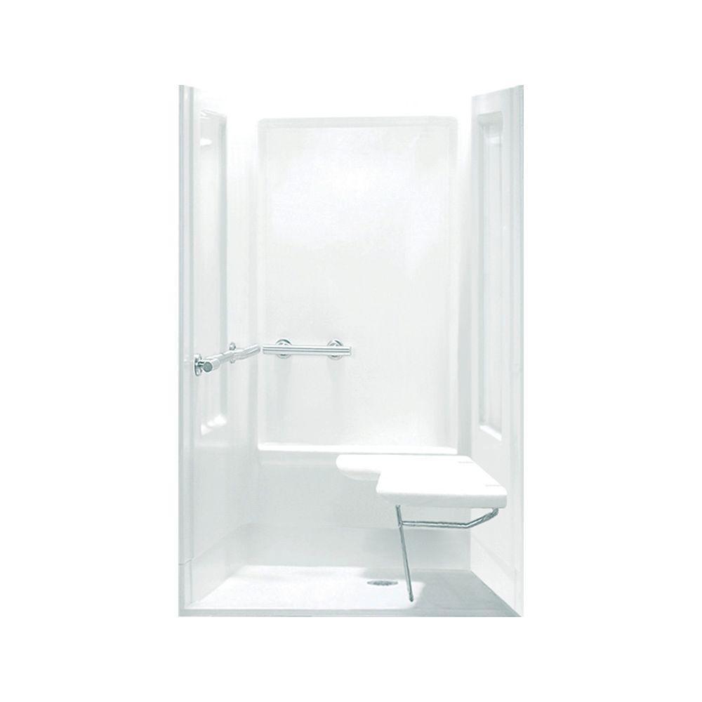 STERLING Transfer Shower 39.375 in. x 39.375 in. x 72 in. Shower ...