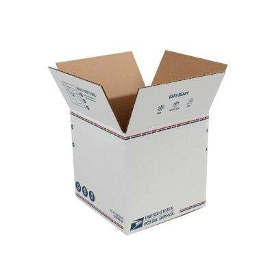 10 in. L x 10 in. W x 10 in. H Adjustable Depth Shipping Box