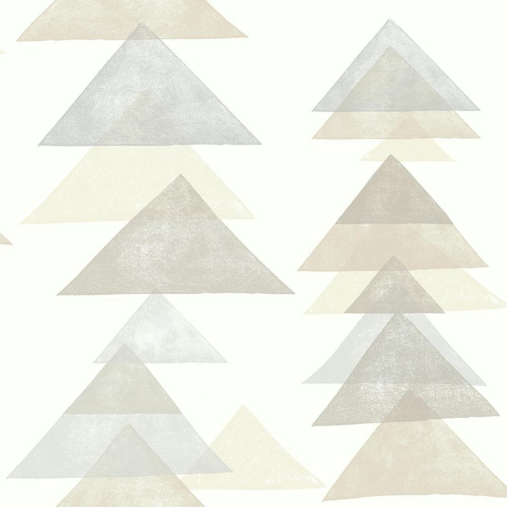 DwellStudio Baby and Kids Triangles Wallpaper