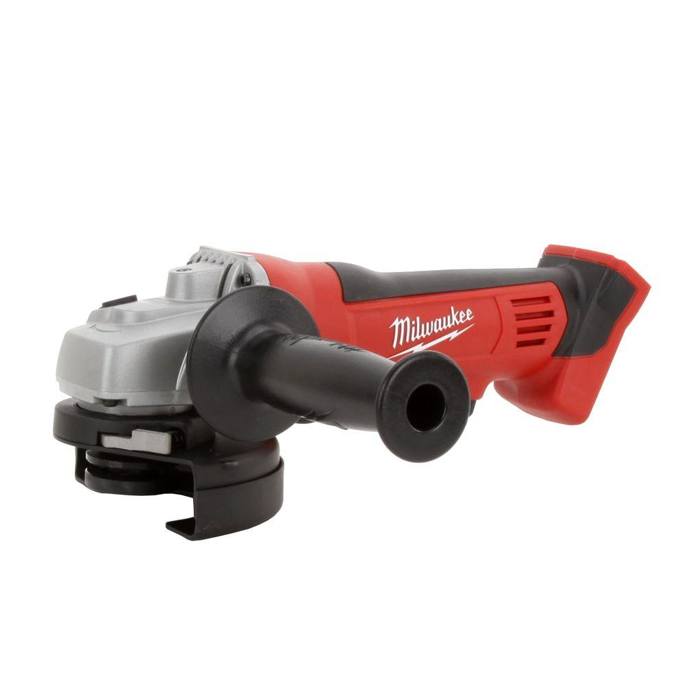 Milwaukee M18 18-Volt Lithium-Ion 4-1/2 in. Cordless Cut-Off/Grinder (Tool-Only)