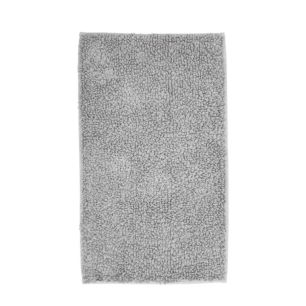 The Company Store Company Cotton Chunky Loop Silver 21 in. x 34 in. Bath Rug was $39.0 now $31.0 (21.0% off)