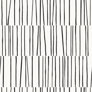 Bobby Berk Shift White & Black Peel and Stick Wallpaper 56 sq. ft.