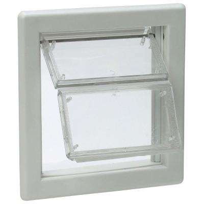 6-5/8 in. x 7-1/4 in. Small AirSeal Pet Door