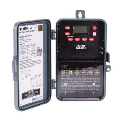 30 Amp 120-277 Volt Astronomic Indoor/Outdoor Time Switch